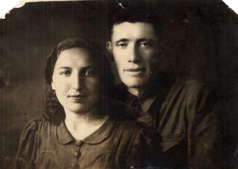 Бася Книшевитсякая и Моисей Форштат